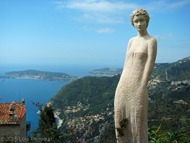 Eze, on the Mediterranean, 2008