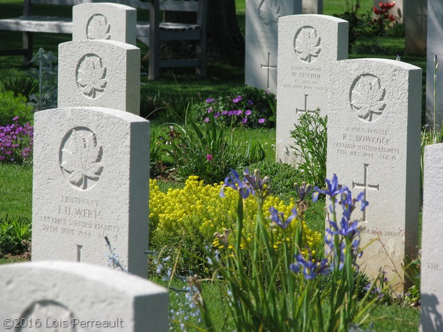 Canadian Cemetery, Beny-sur-Mer, Normandy, 2008