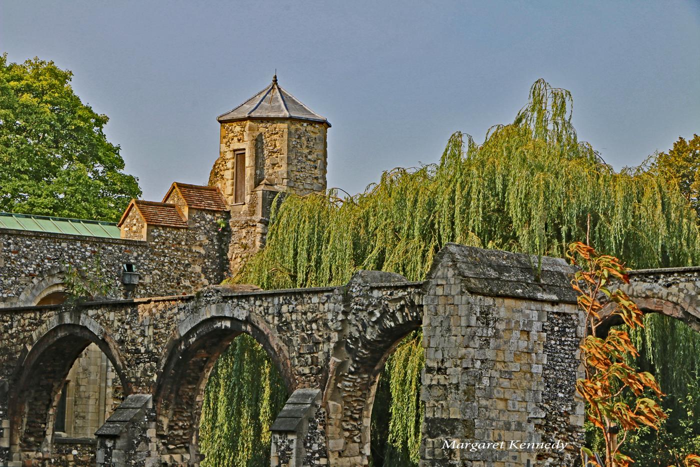 Arches Behind Canterbury