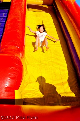 Granddaugher at Rib Fest