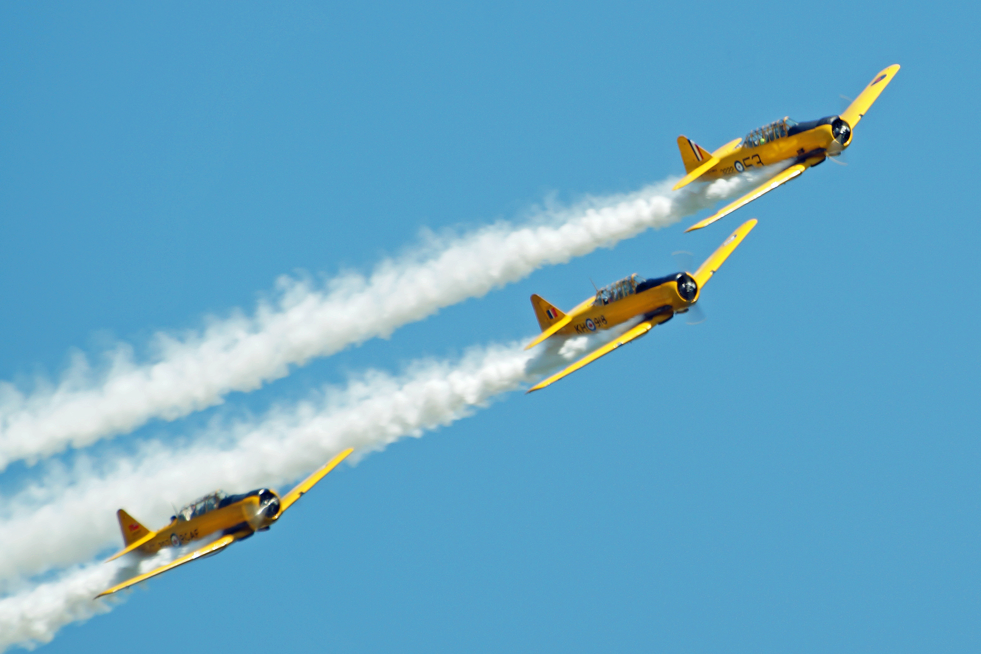 Harvards at Flight